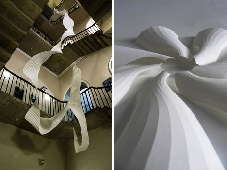 Richard Sweeney – Artfully Twisted Paper Sculptures 2 Paper Art