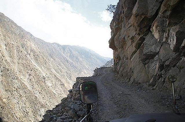 Road to Nanga Parbat, Pakistan 2 Dangerous roads