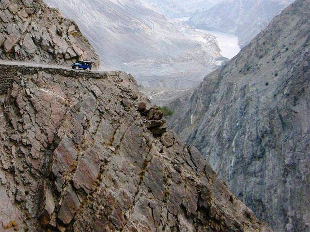 Road to Nanga Parbat, Pakistan Dangerous roads