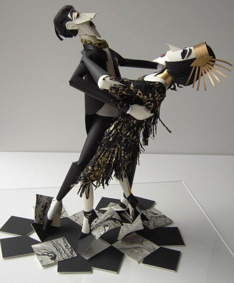 Sher Christopher – Emotive Paper Figurines Paper Arts