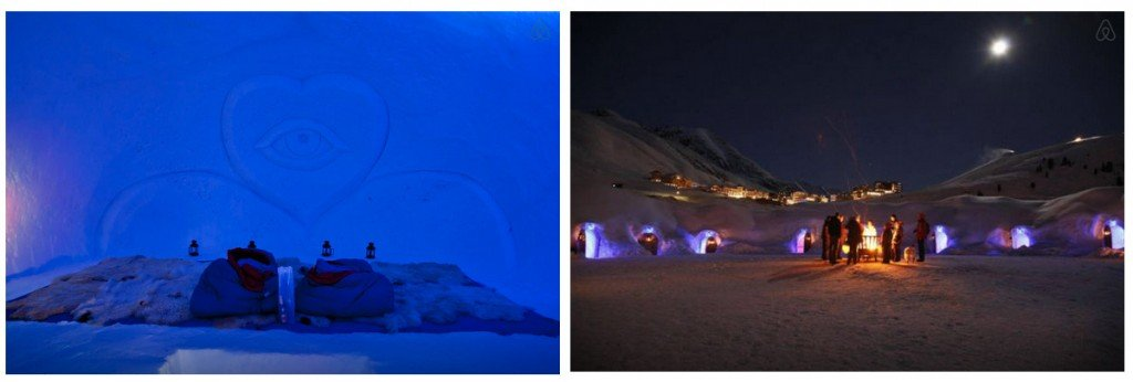 Spend the night in an Igloo 2 Epic AirBNB
