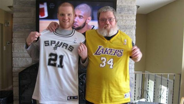 Spurs Lakers Funny Photos