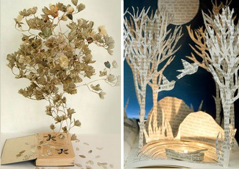 Su Blackwell – Storybook Paper Works of Art Paper Art