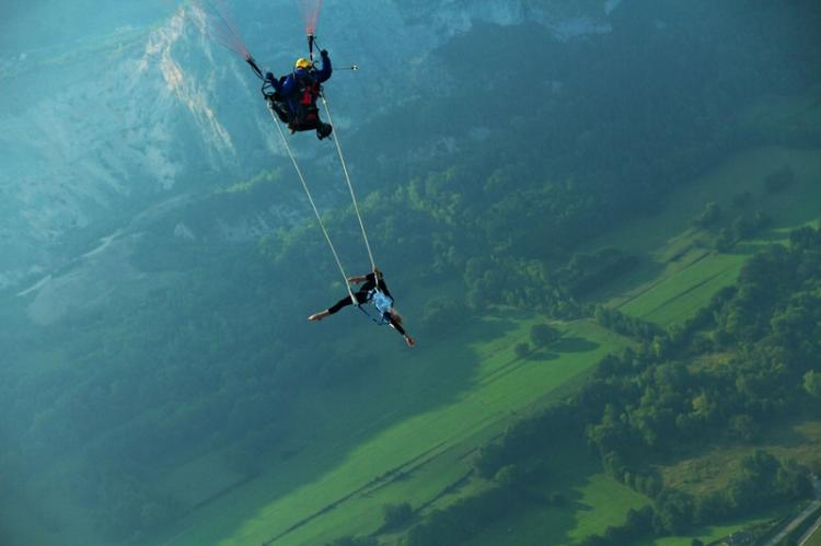 Trapeze paragliding High Place
