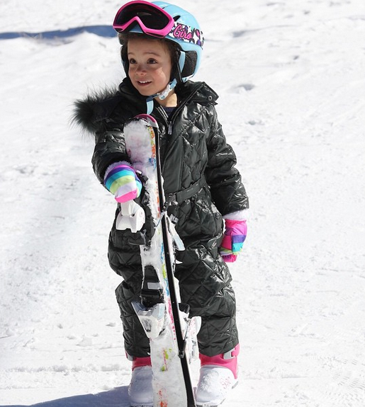 ski suit Young Model