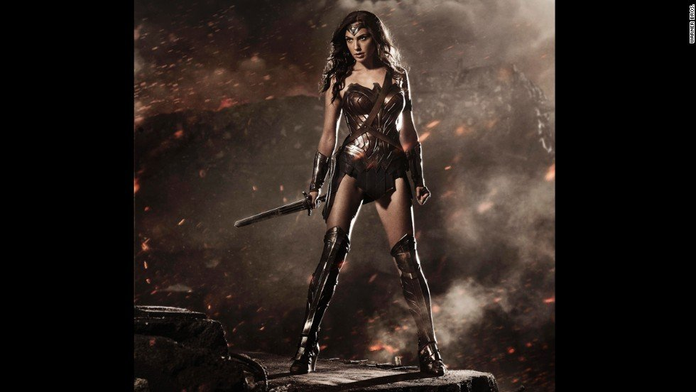 """Wonder Woman"" from Batman v Superman Dawn of Justice Supergirls"