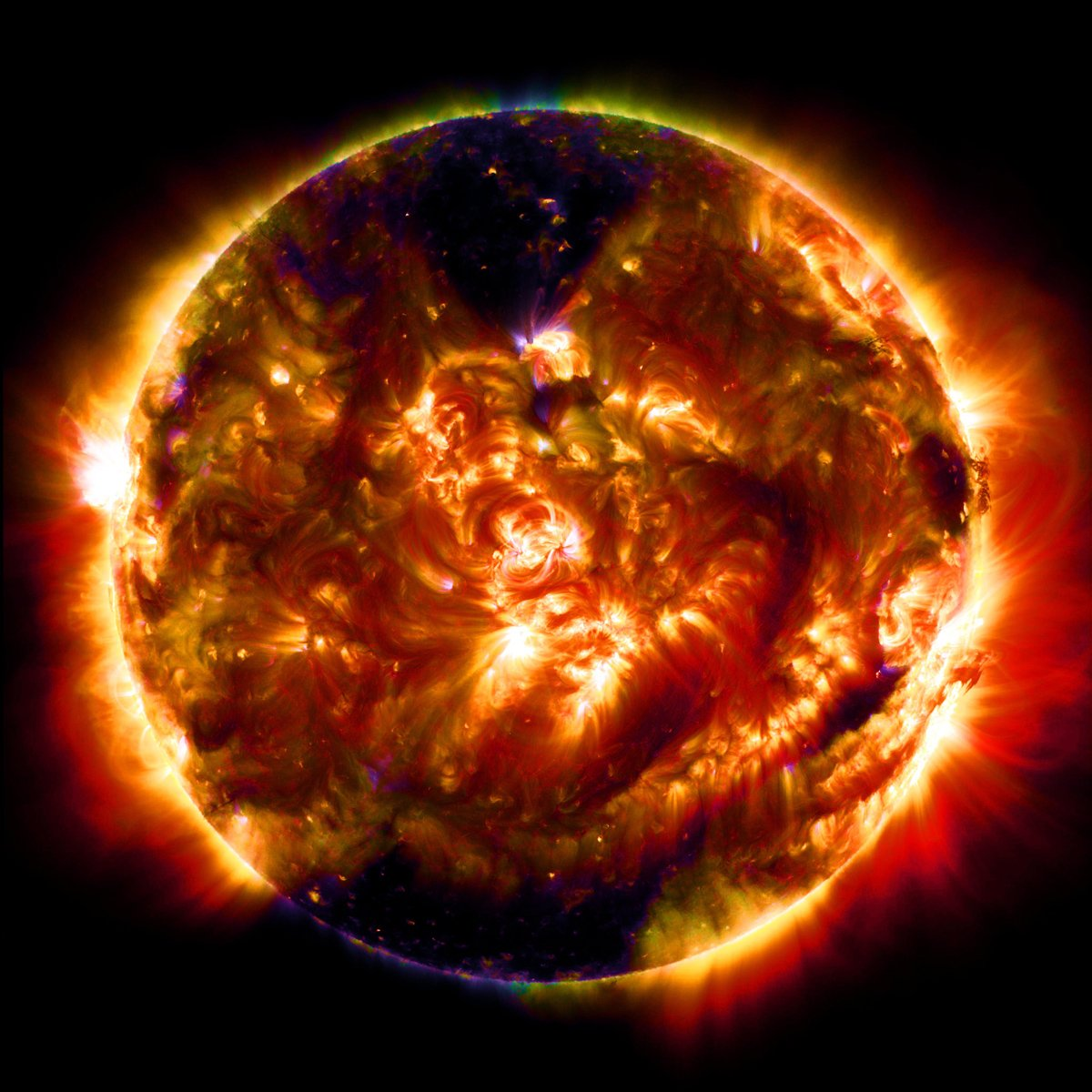 100 Millionth image of the Sun by NASA Great Photos