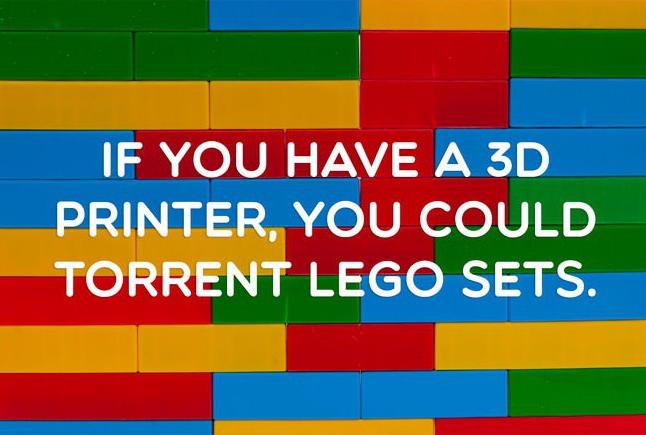 3D Printer Lego Set Smart Idea