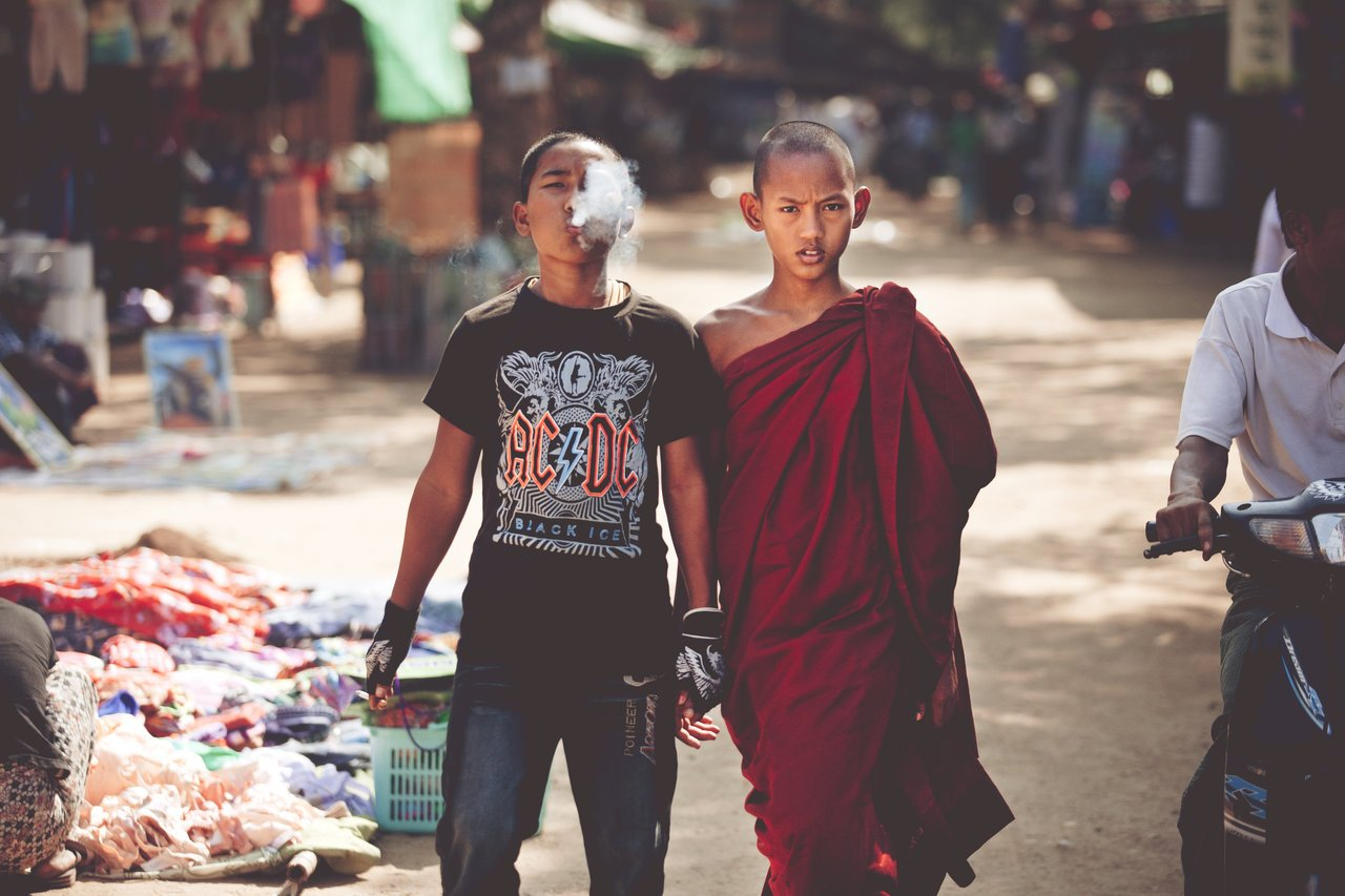 A MONK AND HIS BROTHER Human Diversity