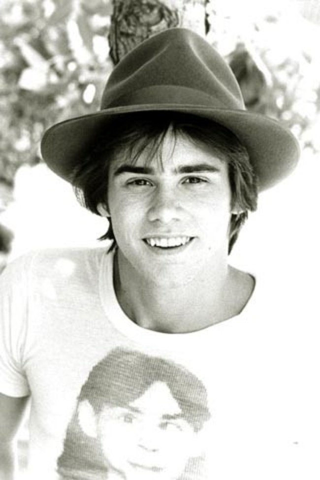 A young Jim Carrey. [c. 1970s] Young Celebrity