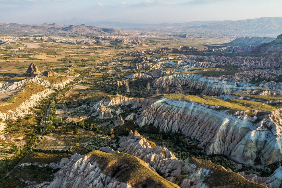 Ancient Region of Anatolia in Cappadocia, Turkey Unusual Place