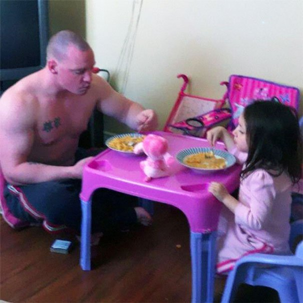 Baby Table Parenting Fails
