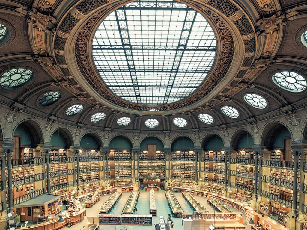Bibliotheque Nationale de France, Paris, 2014 House of Books