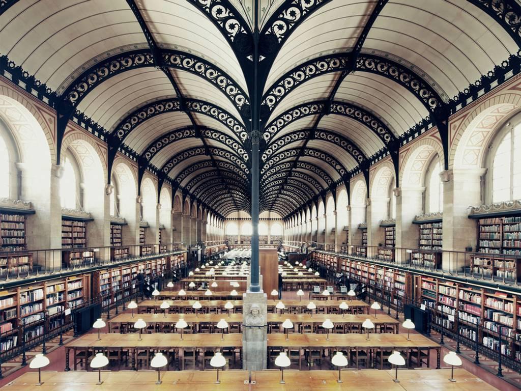 Bibliotheque Sainte Genevieve, Paris, 2012 House of Books