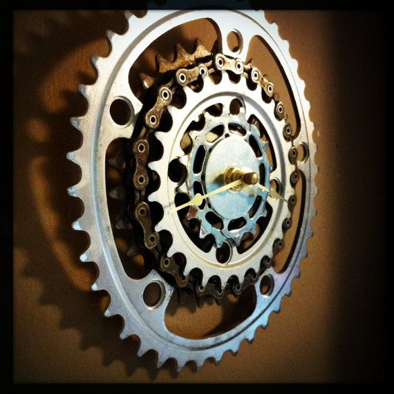 Bicycle Gear Wall Clock Upcycling