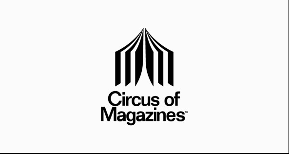 Circus of Magazines Clever Logos