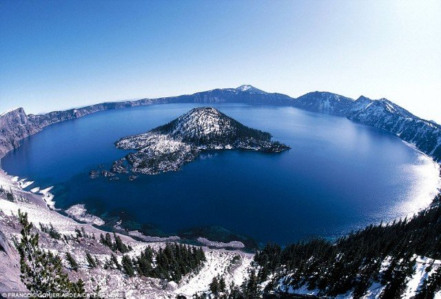 Crater Lake Travel Idea