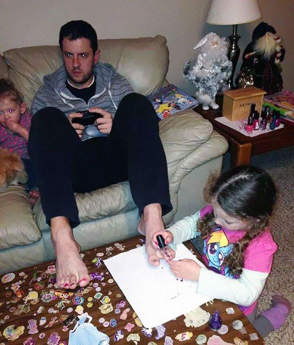 Dads don't care Parenting Fails