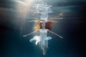 Dancing reflection (age 12) Little Underwater Dancers