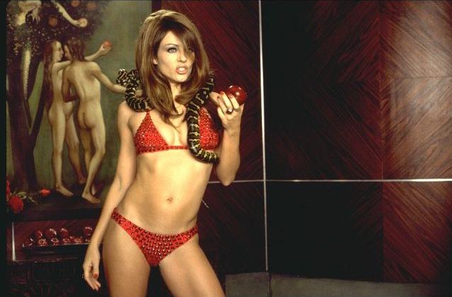 Elizabeth Hurley, Bedazzled Sexy Scenes