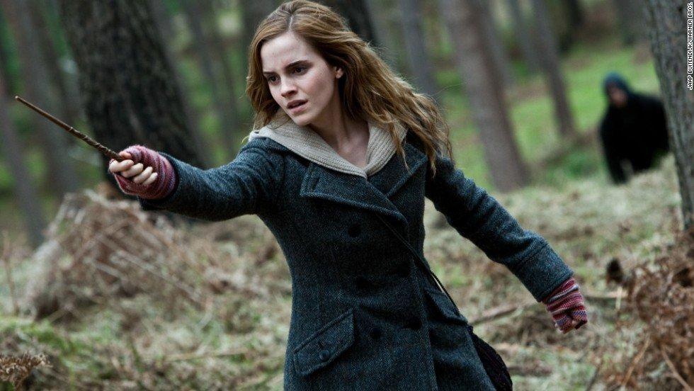 Emma Watson in Harry Potter Supergirls