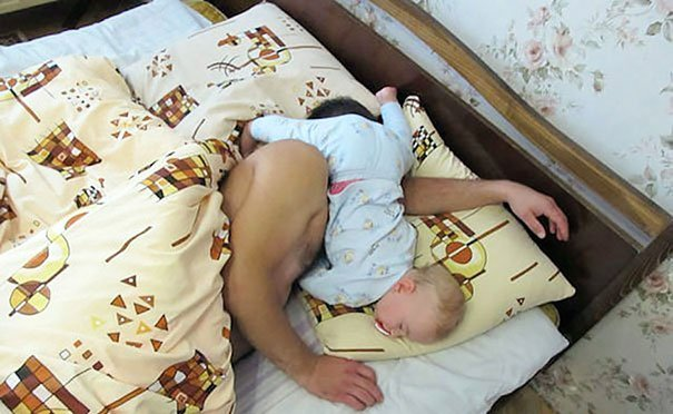 Epic Sleeping Position Parenting Fails