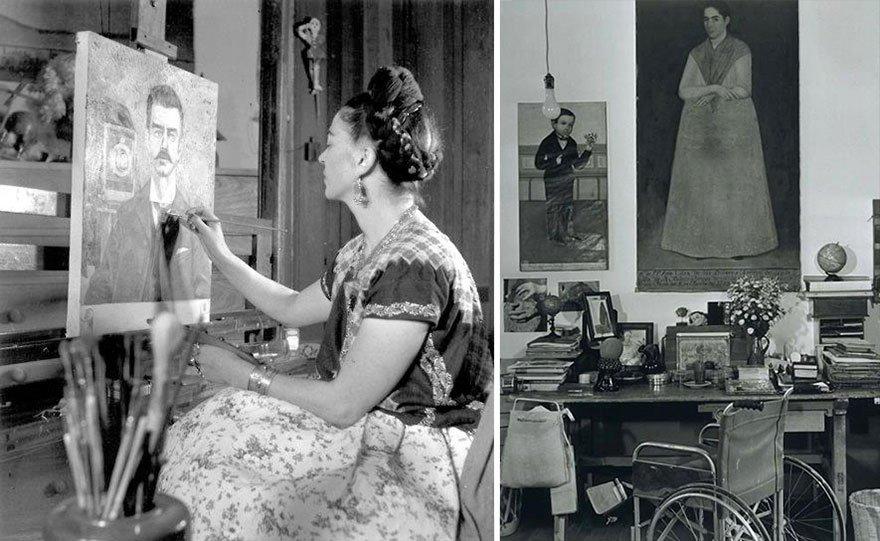 Frida Kahlo Famous Artist