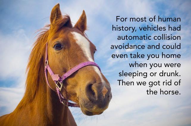 Got rid of horse Smart Idea
