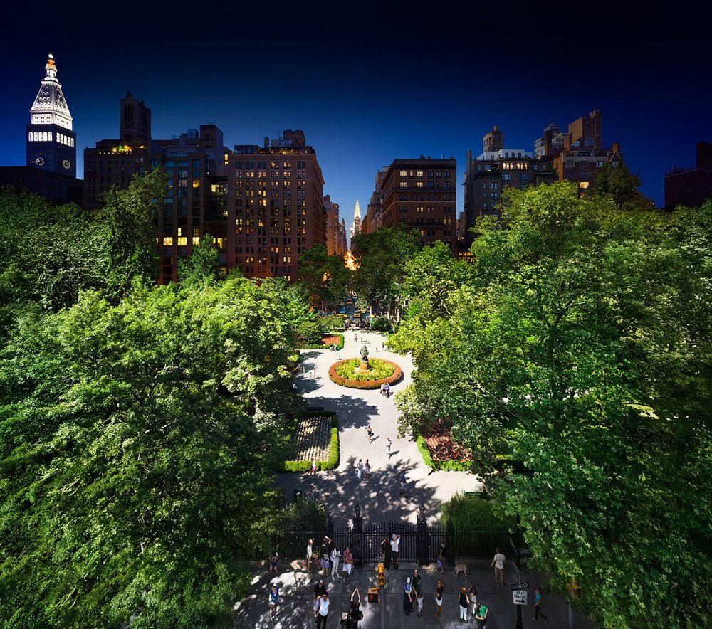 Gramercy Park, NYC Day and Night