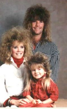 Hair Style Family Photo Fails