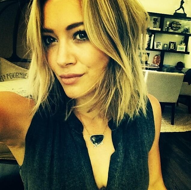Hilary Duff Celebrities Haircut
