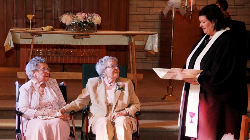 Iowa couple of 72 years finally gets married Human Diversity