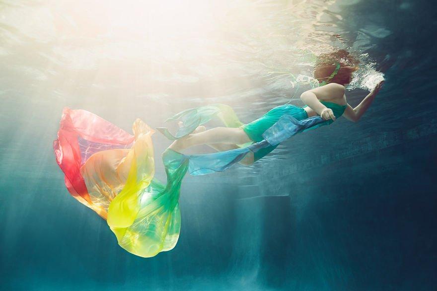 Irish dancer (age 6) Little Underwater Dancers