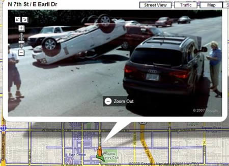 It isn't funny anymore, it is evidence. Google Street Surprises
