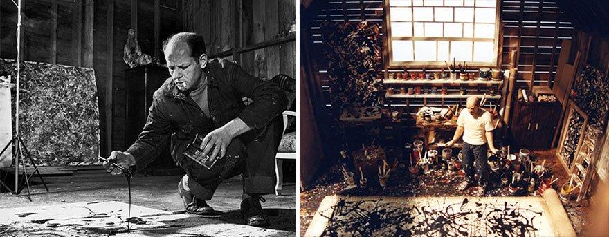 Jackson Pollock Famous Artist