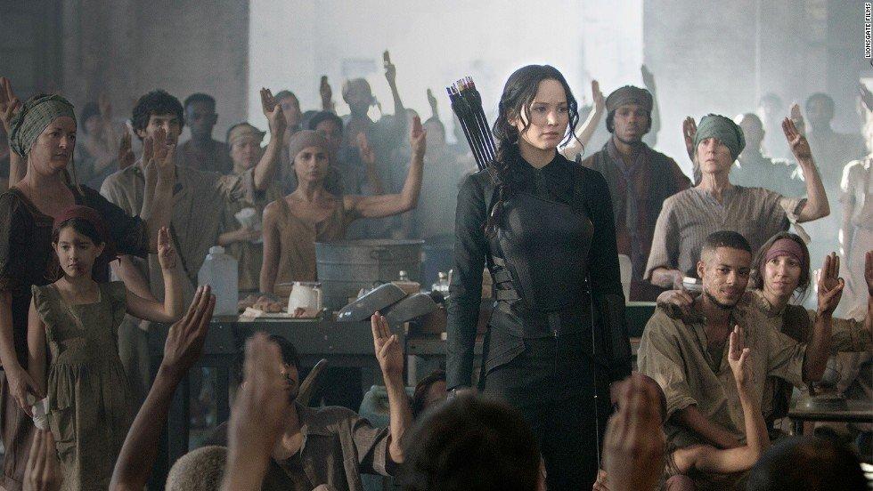 Jennifer Lawrence The Hunger Games Mockingjay Part 1 Supergirls