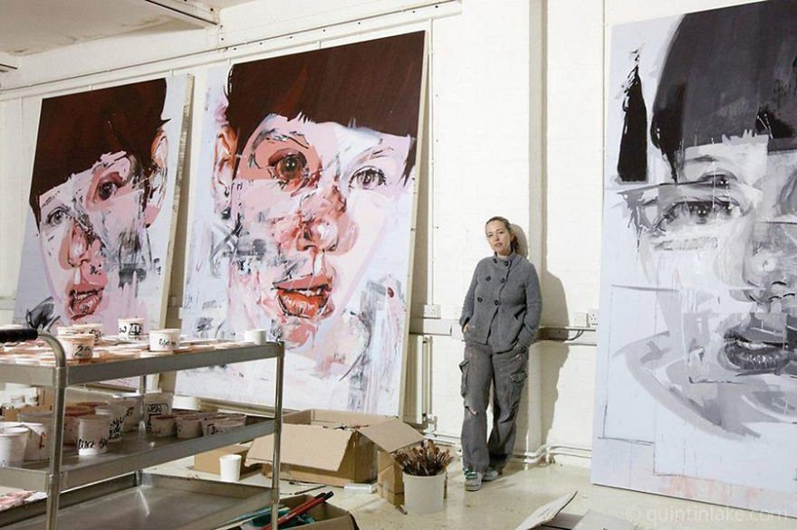 Jenny Saville Famous Artists