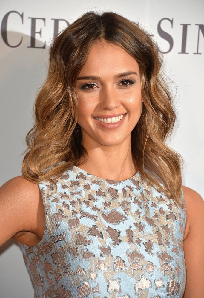 Jessica Alba Celebrity Haircut