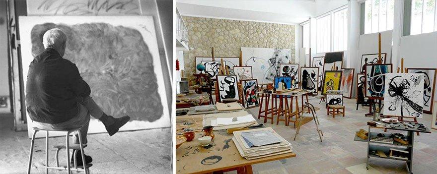 Joan Miro Famous Artists