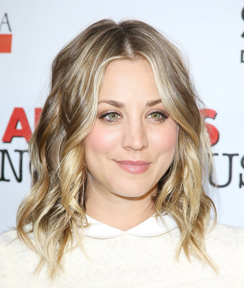 Kaley Cuoco Celebrity Haircut