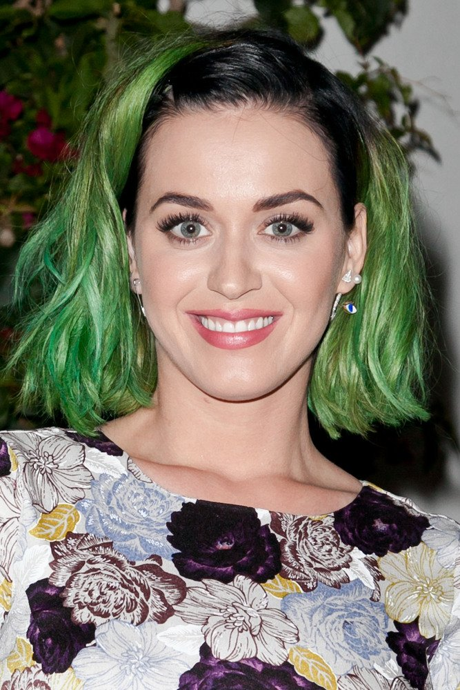 Katy Perry Celebrity Haircut