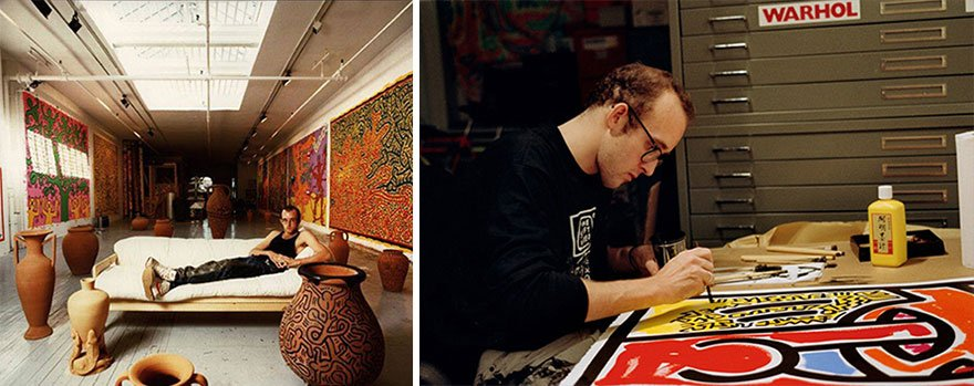 Keith Haring Famous Artist