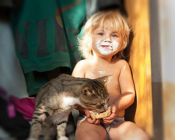 Kids & Cats