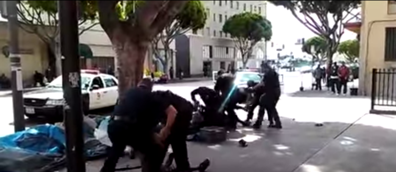 LAPD before shooting