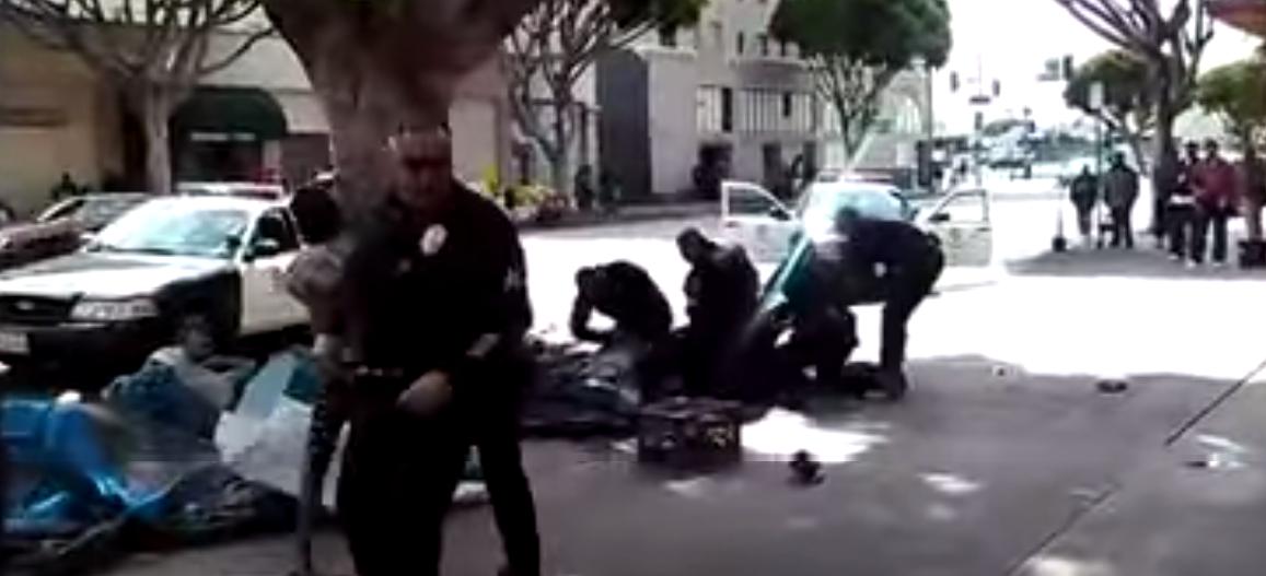 LAPD shoots