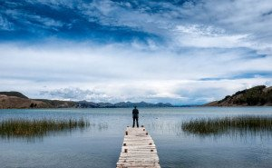 Lake Titicaca Pier travel Paradise