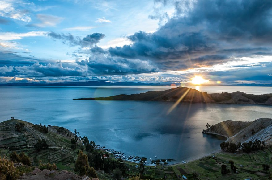 Lake Titicaca Sunset travel Paradise