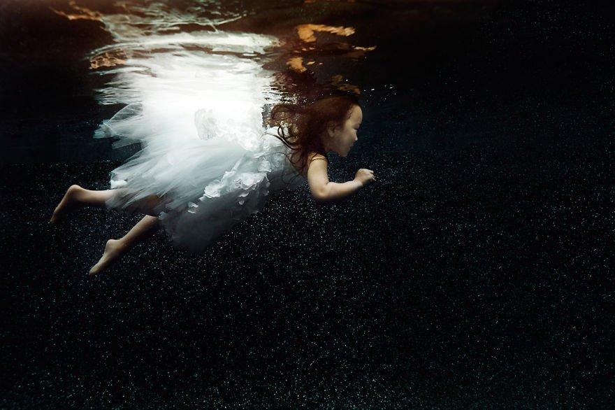 Little fairy dancer (age 5) Little Underwater Dancers