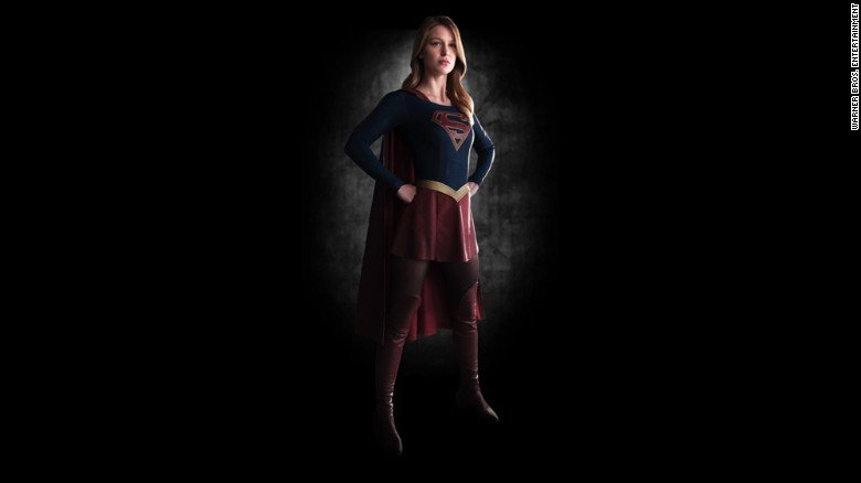 "Melissa Benoist as ""Supergirl"" Supergirls"