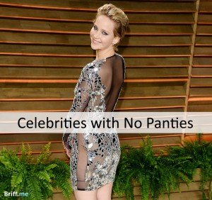 More Celebrities with No Panties